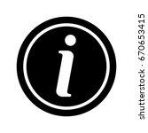 info icon | Shutterstock .eps vector #670653415