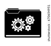 folder setup icons | Shutterstock .eps vector #670654951