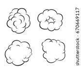 vape vector illustrations on... | Shutterstock .eps vector #670669117