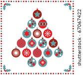 Seasonal Christmas Card With...