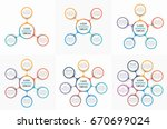 circle infographic templates... | Shutterstock .eps vector #670699024