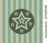 cute stars background | Shutterstock .eps vector #67069948