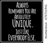 funny  inspirational quotation... | Shutterstock .eps vector #670721941