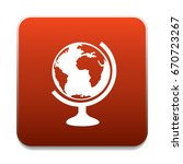 world globe icon | Shutterstock .eps vector #670723267