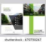 abstract vector modern flyers... | Shutterstock .eps vector #670750267