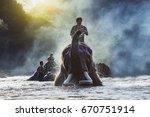 Chiang Mai Thailand Elephants...