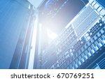 bottom view of rack server... | Shutterstock . vector #670769251