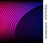 bright neon lines background... | Shutterstock . vector #670792531