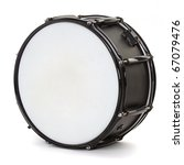 drum isolated on white background - stock photo