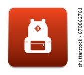 backpack icon | Shutterstock .eps vector #670862761