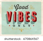 vintage style inspirational... | Shutterstock .eps vector #670864567