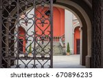 Iron Gate To The Yard   Gate T...