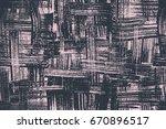 brush stroke expressive... | Shutterstock .eps vector #670896517