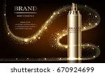 cosmetics beauty series  mockup ...   Shutterstock .eps vector #670924699