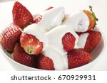 Strawberry With Chantilly In...