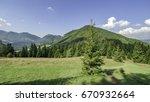 view of mala fatra mountain ... | Shutterstock . vector #670932664