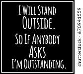 funny  inspirational  modern... | Shutterstock .eps vector #670941559
