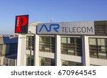 ar telecom building in lisbon   ... | Shutterstock . vector #670964545
