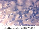 sky. beautiful sky with clouds. ...   Shutterstock . vector #670970437