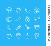 vector illustration of 16... | Shutterstock .eps vector #670980559