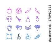 vector illustration of 16... | Shutterstock .eps vector #670982935