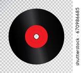 vector realistic isolated retro ... | Shutterstock .eps vector #670986685