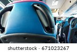 seat in the bus.  | Shutterstock . vector #671023267