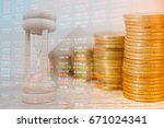 concept business and finance.... | Shutterstock . vector #671024341