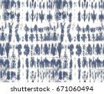 japanese shibori technique tie... | Shutterstock .eps vector #671060494