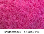 Pink Fur Background