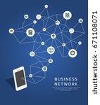 business illustration | Shutterstock .eps vector #671108071