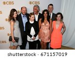 Small photo of The cast of Life in Pieces attends the 2015 CBS Upfront at The Tent at Lincoln Center on May 13, 2015 in New York City.