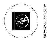 cd case | Shutterstock .eps vector #671172019