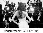 cannes  france   may 22  izabel ... | Shutterstock . vector #671174209