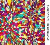 seamless pattern background... | Shutterstock .eps vector #671205541