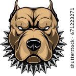 vector illustration of a head...   Shutterstock .eps vector #671223271