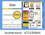 menu menu for broth to cream....   Shutterstock .eps vector #671230864