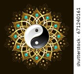 Jewelry With Gold Yin Yang...