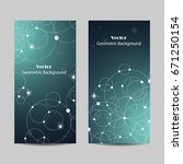 set of vertical banners.... | Shutterstock .eps vector #671250154