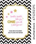 twinkle  twinkle  little star ... | Shutterstock .eps vector #671252191