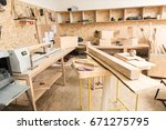 woodworking tools are in... | Shutterstock . vector #671275795