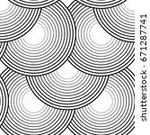 design seamless monochrome... | Shutterstock .eps vector #671287741