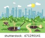 stock vector illustration... | Shutterstock .eps vector #671290141