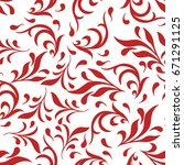 colorful floral background... | Shutterstock .eps vector #671291125