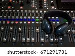 the audio equipment  control... | Shutterstock . vector #671291731