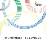 Olympic Rings Background....