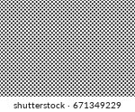 dotted simple seamless pattern. ...   Shutterstock . vector #671349229