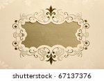 invitation card | Shutterstock . vector #67137376