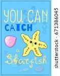 cute starfish cartoon vector...   Shutterstock .eps vector #671386045