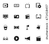 set of 16 editable filming...